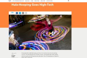 High Tech Hula Hoops